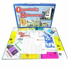 Vintage OPPORTUNITY KALAMAZOO Board Game 1979 HTF Rare AMERI-GAME