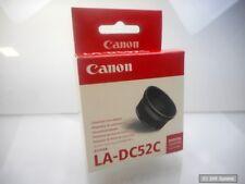 Canon la-dc52c objetivamente adaptador para PowerShot a75, a85, negro, 8485a001, nuevo