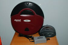 iRobot 4000 Roomba - Red - Robotic Vacuum Cleaner w/ Charger & Dock
