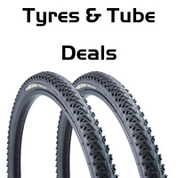 "26"" 1.95"" Vandorm Crossfire Semi Slick Mountain Bike Tyres MTB Tyre"