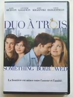 DVD NEUF *** DUO A TROIS (SOMETHING BORROWED) *** KATE HUDSON