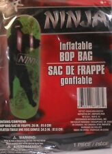 "Bop Bag NINJA 36"" GREEN Inflatable Kids Martial Art Exercise Play Toy 3 ft"