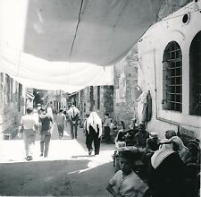 JORDANIE c. 1960 - Les Souks Commerces Enfants Jérusalem - Div 10172