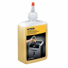 GENUINE FELLOWES 35250 SHREDDER OIL 12OZ BRAND NEW + SEALED / UK SELLER