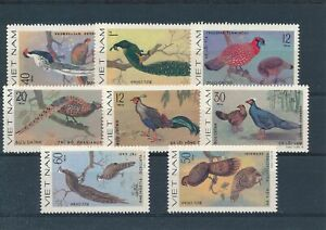 [31090] Vietnam Birds Good lot Very Fine Mint no gum as usual stamps