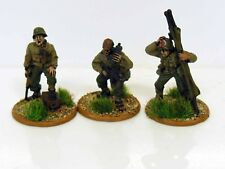 28 mm cadena de comando de acción Perno US Army Command-Metal Pintado - 3 figuras