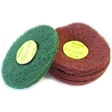 Green Abrasive Nylon Mops - Bundle of 10
