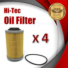 4 x Oil Filter R2605P/WCO4 Fits HOLDEN Crewman VZ 3.6 V6 AWD Ute Petrol 175 180