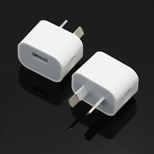 NT AU Plug USB Wall Charger Power TA Adapter for iphone 6 Plus/6/5S/5/4/4S/ipad