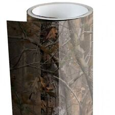 "Camo Realtree Mossy Oak Tree Leaf wrap vinyl Graphics Decal Non Laminate 12""x12"""