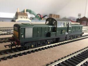 Heljan OO gauge Class 17 BR Green (Weathered) MODELFAIR Limited Edition