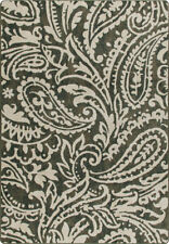 "2x8 Milliken Cashmira Loden Casual Floral Paisley Area Rug - Approx 2'1""x7'8"""
