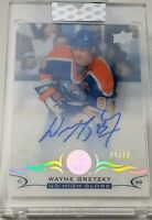 WAYNE GRETZKY 2018-19 Upper Deck Clear Cut HIGH GLOSS 4/10 Super Rare! Oilers