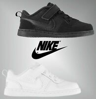 Boys Nike Touch And Close Textured Court Borough Trainers Sizes from C3 to C9