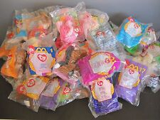 Ty McDonalds TEENY BEANIES Happy Meal Lot of 52 Packages of Varied Collection