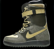 Nike Zoom Force 1 ZF1 Snowboard Boots 334841-371 Sz 8 Black Green Gold SBB