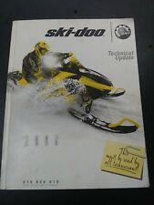 New Listing2006 Ski Doo Snowmobile Technical Update Manual Bombardier 219600013 Ns433