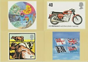 GB PHQ Cards  No's 227- 281   2001 - 2005   Mint