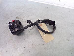 Kawasaki ER6F ER6 ER 6 Left hand switchgear switch handlebar controls ER116