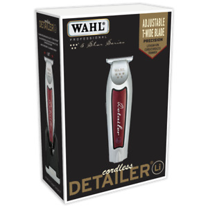 WAHL #08171 CORDLESS DETAILER LI EXTREMELY CLOSE T-WIDE BLADE 100 MIN RUN TIME