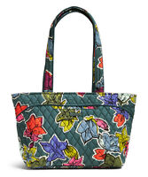 NWT Vera Bradley Mandy cotton quilted Tote Bag Purse in Falling Flowers