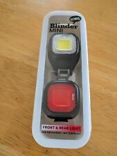 Knog Blinder Mini Chippy twinpack set front and Rear Lights bicycle bike