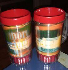 Set Of 2 Marlboro Racing 1991 Cup Mug