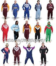 NRL Adults & Kids Footysuit Pyjamas 'Select Team' All Sizes !!!