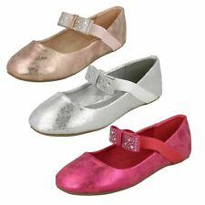 Girls Spot On Flat Ballerina 'Shoes'