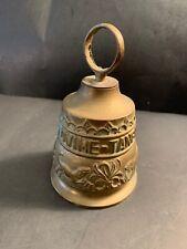 Vintage Brass Church Door Bell VOCEM MEAM A OVIME TANGIT Animal Scene