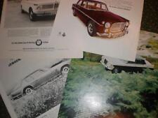 11 UK car adverts 1967 - 1968