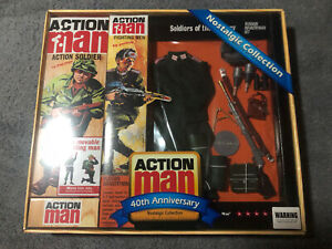 Vintage Action Man 40th Anniversary SOTC - Russian Infantryman - Mint Boxed