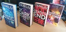 Cixin Liu - Three Body Problem / Remembrance of Earth's Past COMPLETE SIGNED Set