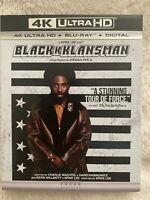 BLACKKKLANSMAN (2018) - 4K Ultra HD UHD disc only (No Blu-ray & Digital Copy)