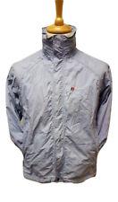 #291 Womens Berghaus Aquafoil Light Blue Waterproof Outdoor Walking Jacket UK 12