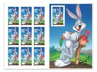 USA 1997 Bugs Bunny Booklet of Ten 32C Stamps Normal Diecut MUH (5-16)