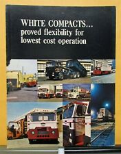 1969 White Trucks Model Compact Proved Flexibility Sales Folder