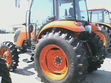 Two 169x30169 30 Kubota M7040 R 1 Bar Lug 8 Ply Tractor Tires
