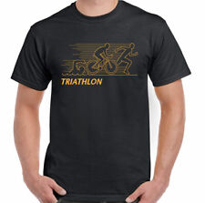 Triathlon T-Shirt Mens Cycling Running Swimming Ironman Sport Bike Kit OP