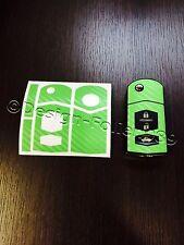 Carbon verde lámina clave Mazda rx8 NC 2 3 5 6 mx5 sl CX 7 CX 9, etc.