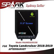 "11.5"" CARPLAYER ANDROID AUTO GPS DVD SAT NAV BT FOR TOYOTA LANDCRUISER 2016-2019"