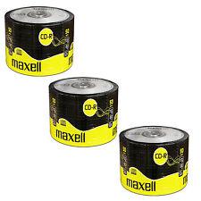 50 X Maxell Cd-r 700mb 80min 52x Blank Recordable Discs Data Music - Shrink Wrap