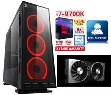 Gaming PC Intel I7-9700KF 4,9Ghz Nvidia RTX 2060 RAM 16GB SSD FORTNITE 4K