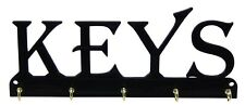 Keys Key Rack Holder Hanger Entryway Organization Orgainizer Wall Mount 5 Hooks