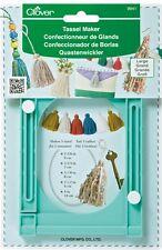 Clover Large Tassel Maker 9941 Basic instructions included
