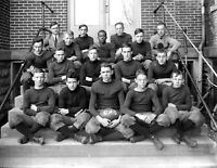 "1915 Oxford, Ohio, High School Football Vintage Photograph 8.5"" x 11"" Reprint"