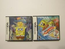 2  SpongeBob's Surf & Skate Roadtrip (Nintendo DS, 2011) & Atlantis Square pants
