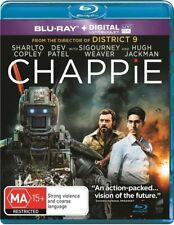 Chappie (Blu-ray, 2015) NEW