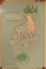 Avi Buffalo Poster Silkscreen Sasquatch Music Festival Gorge May 30