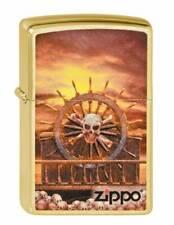 Lighter Zippo Skull Steering Wheel